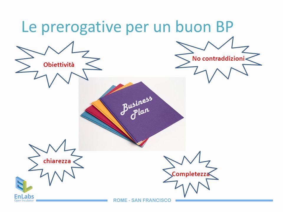 Le prerogative per un buon BP