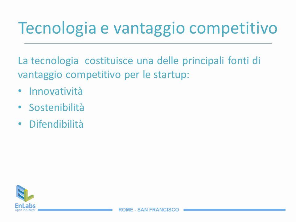 Tecnologia e vantaggio competitivo