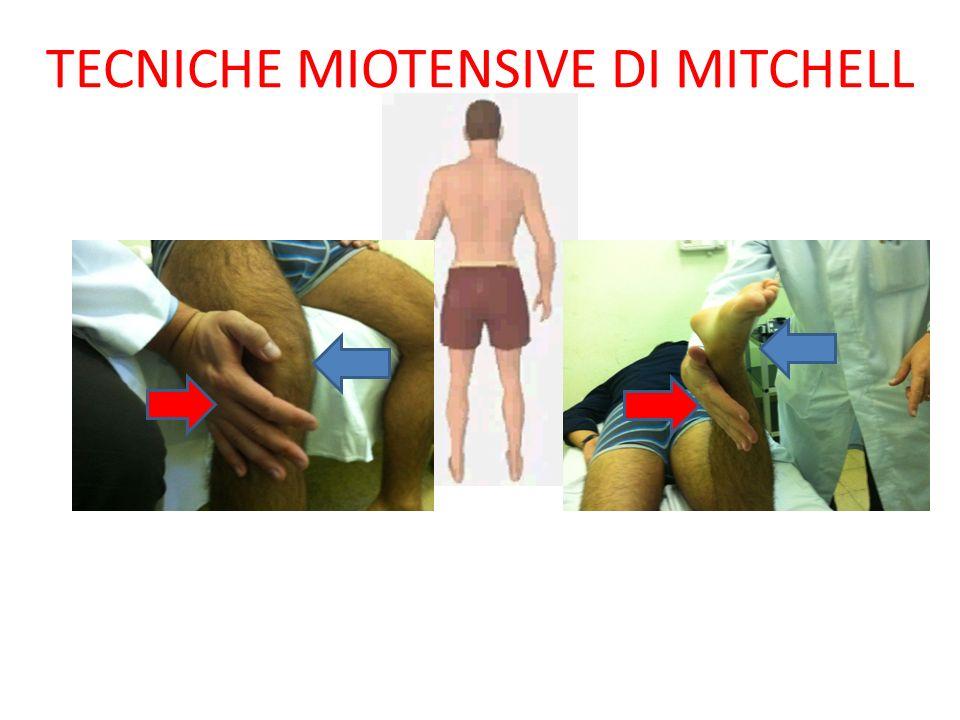 TECNICHE MIOTENSIVE DI MITCHELL