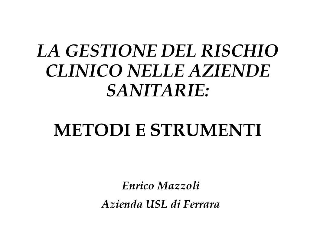 Enrico Mazzoli Azienda USL di Ferrara
