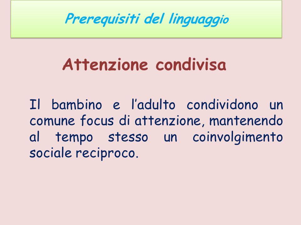 Prerequisiti del linguaggio