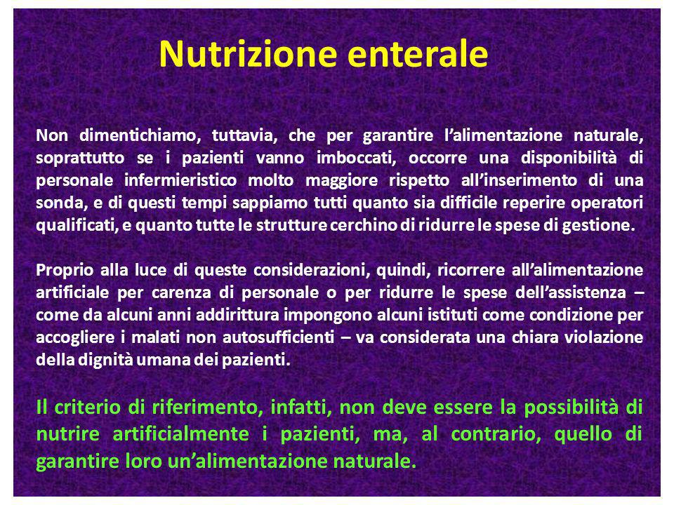 Nutrizione enterale