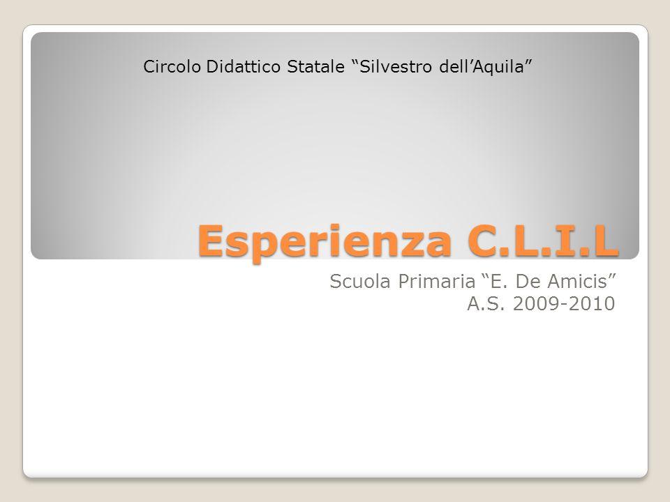 Scuola Primaria E. De Amicis A.S. 2009-2010
