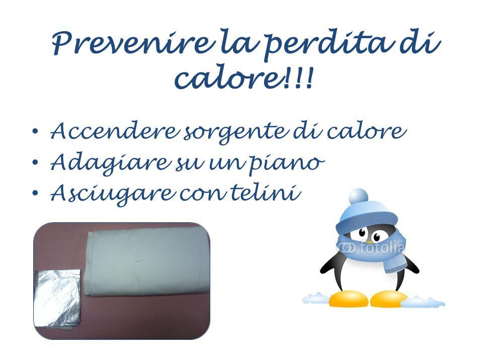 Prevenire la perdita di calore!!!