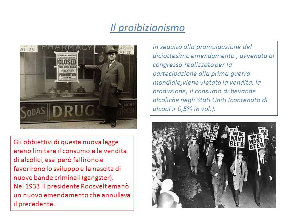 Il proibizionismo