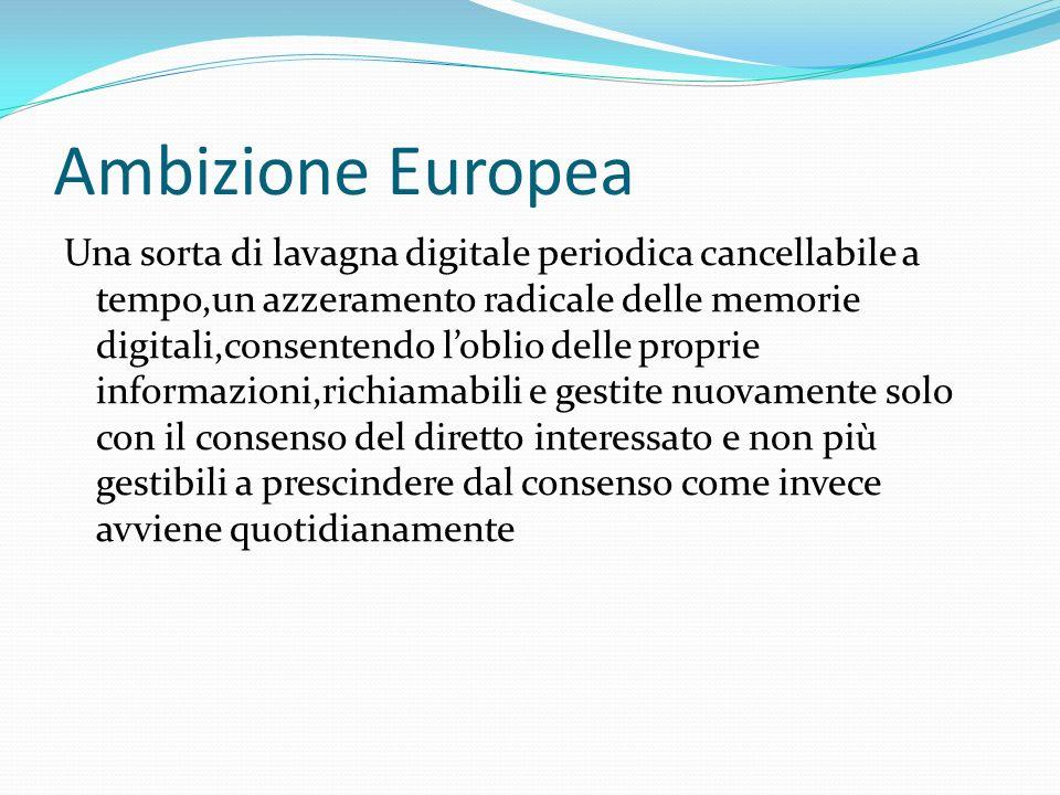 Ambizione Europea