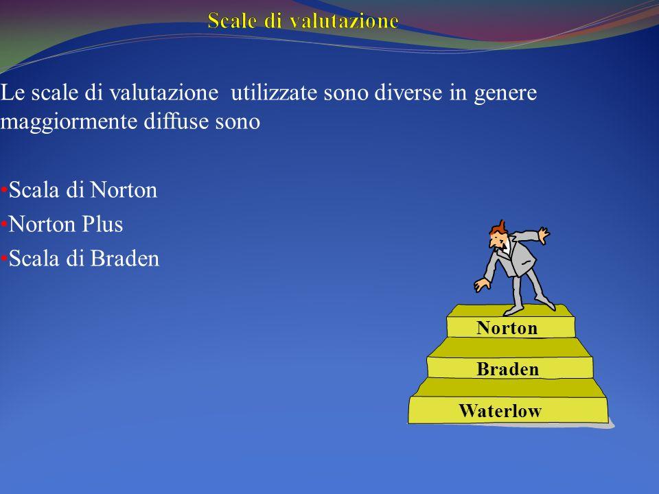 Scale di valutazione Le scale di valutazione utilizzate sono diverse in genere maggiormente diffuse sono.