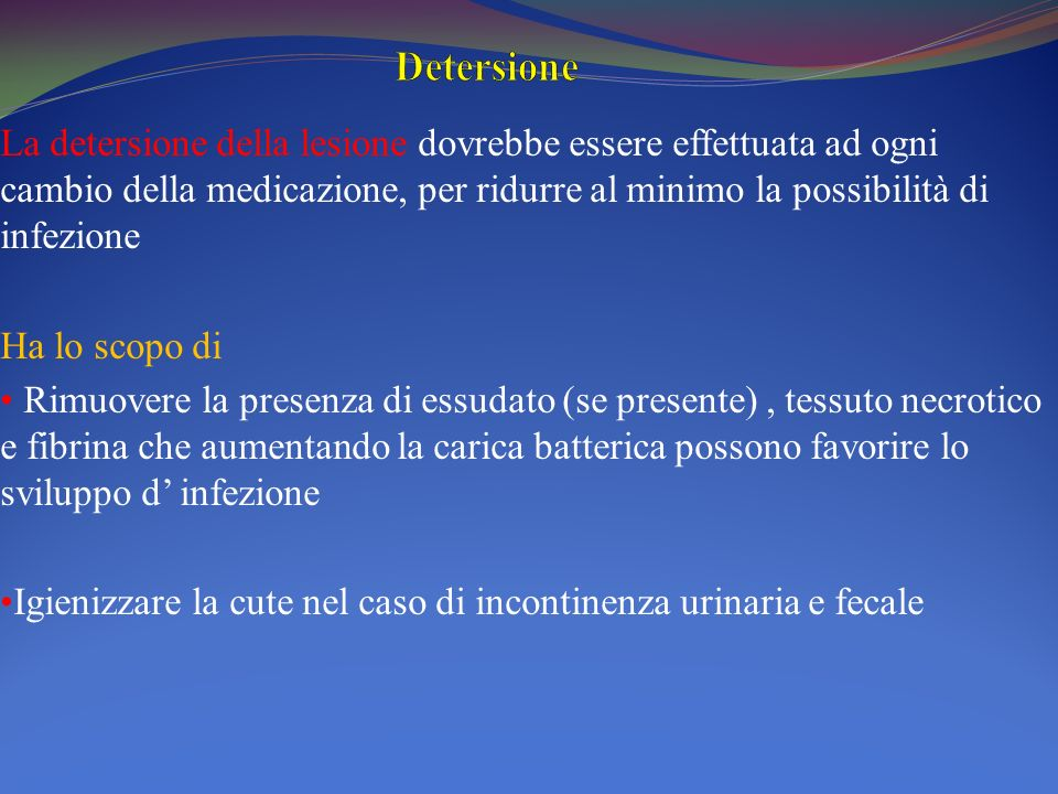 Detersione
