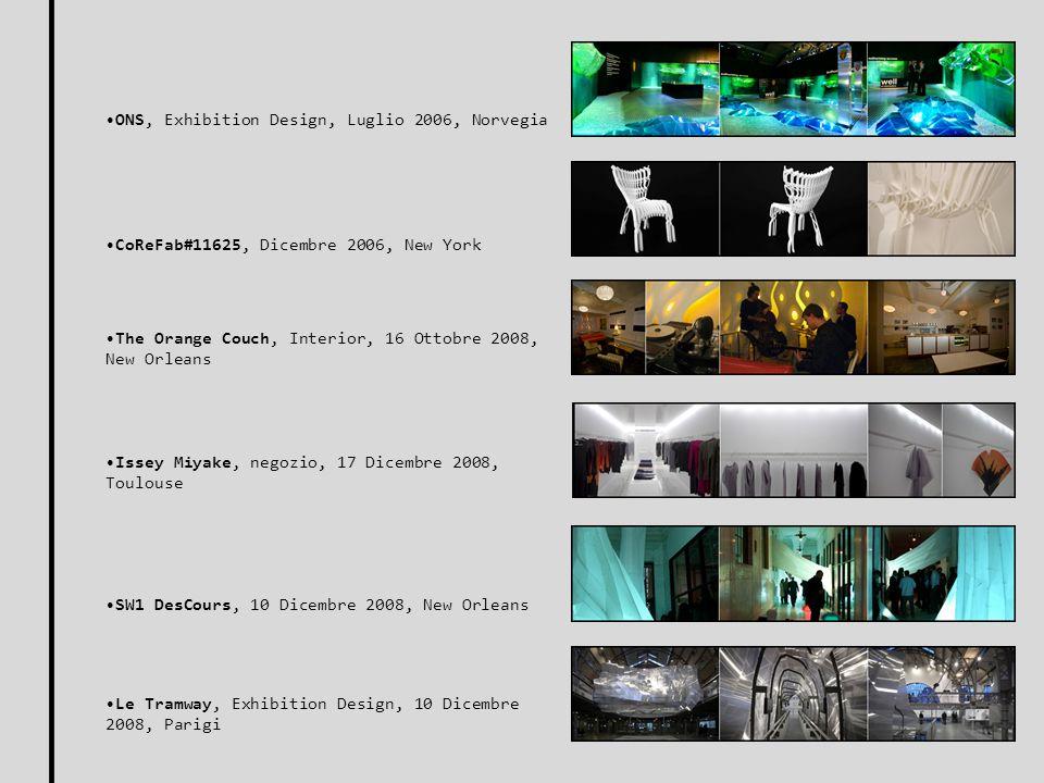 ONS, Exhibition Design, Luglio 2006, Norvegia