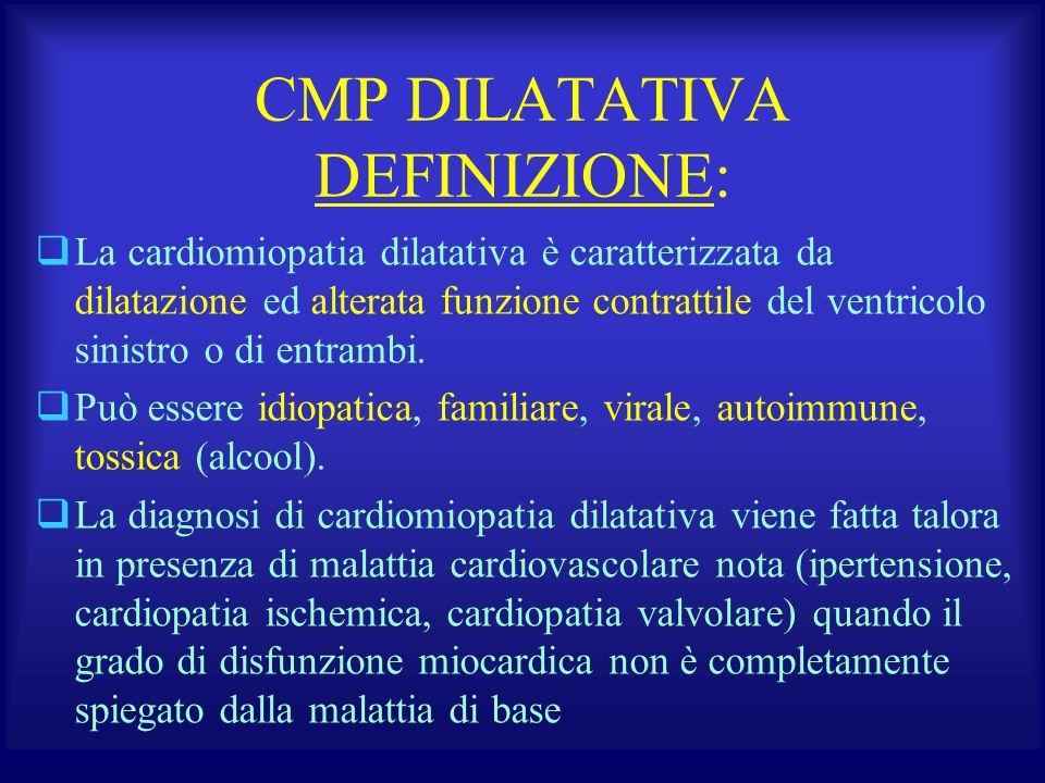CMP DILATATIVA DEFINIZIONE: