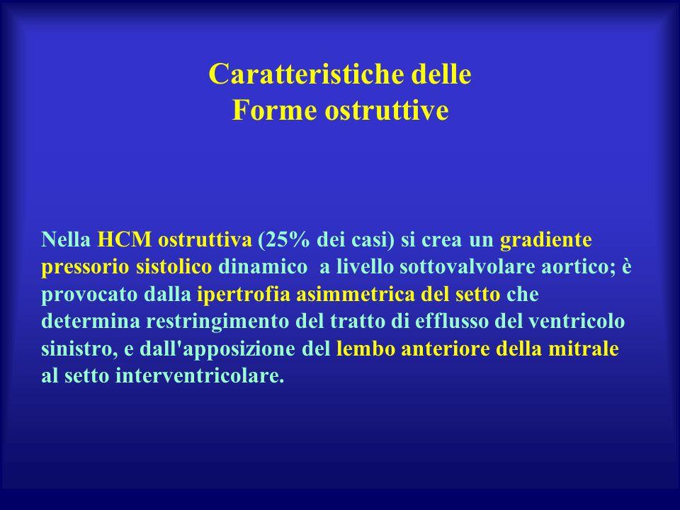 Caratteristiche delle Forme ostruttive