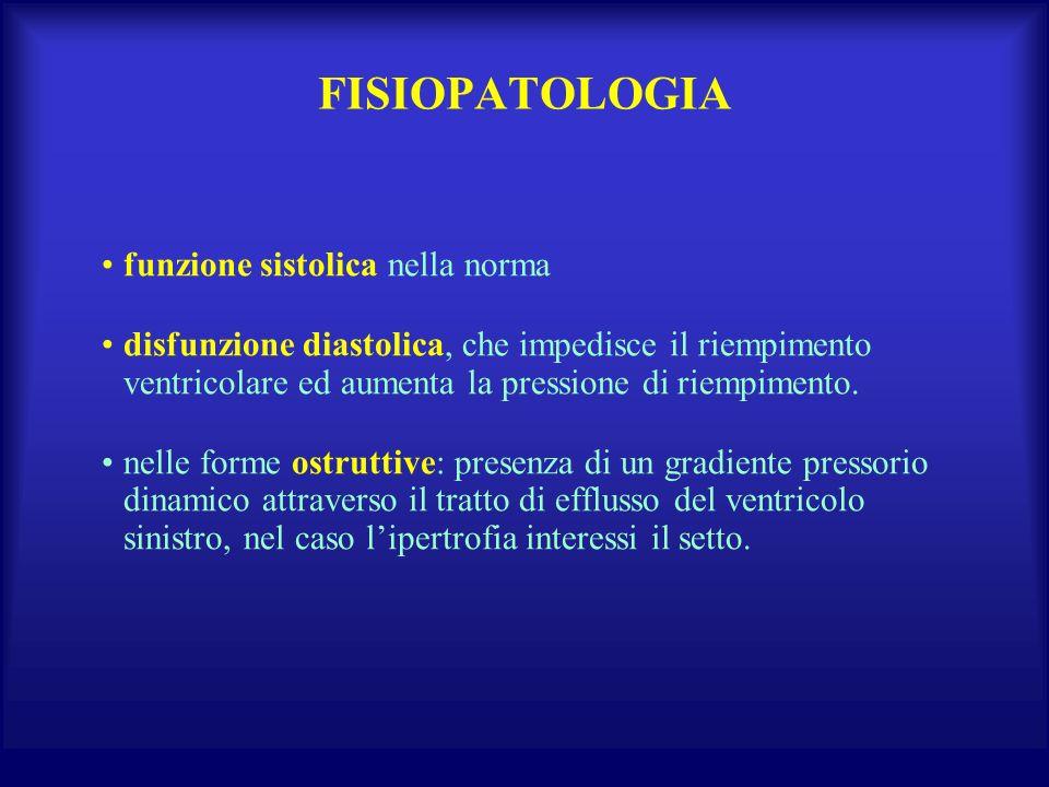 FISIOPATOLOGIA funzione sistolica nella norma