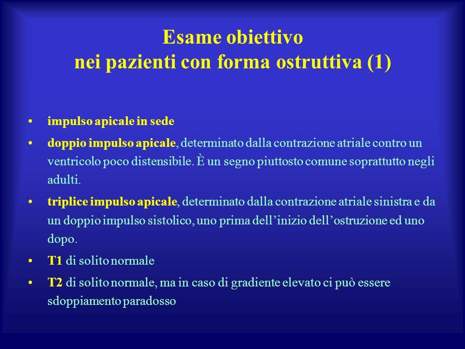 Esame obiettivo nei pazienti con forma ostruttiva (1)