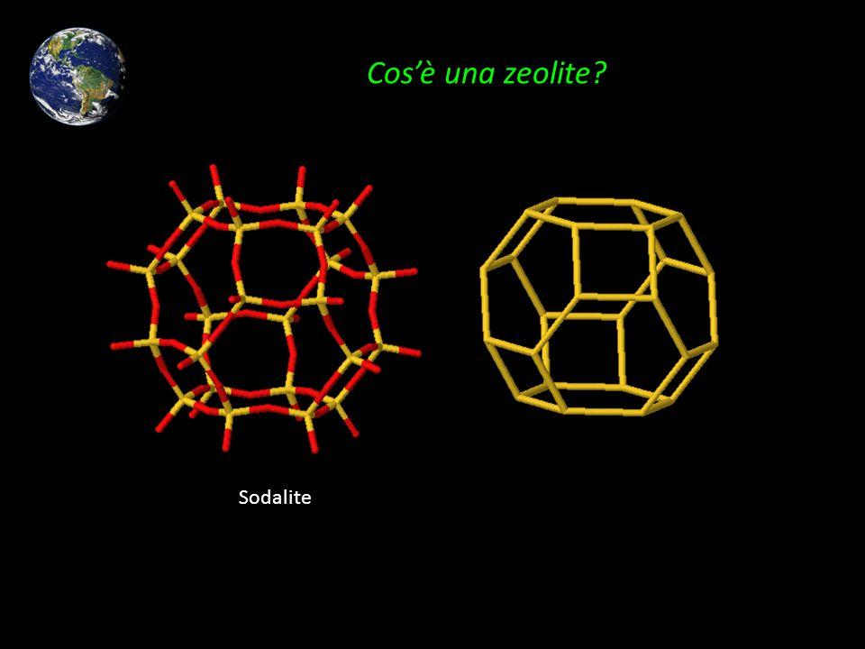 Cos'è una zeolite Sodalite