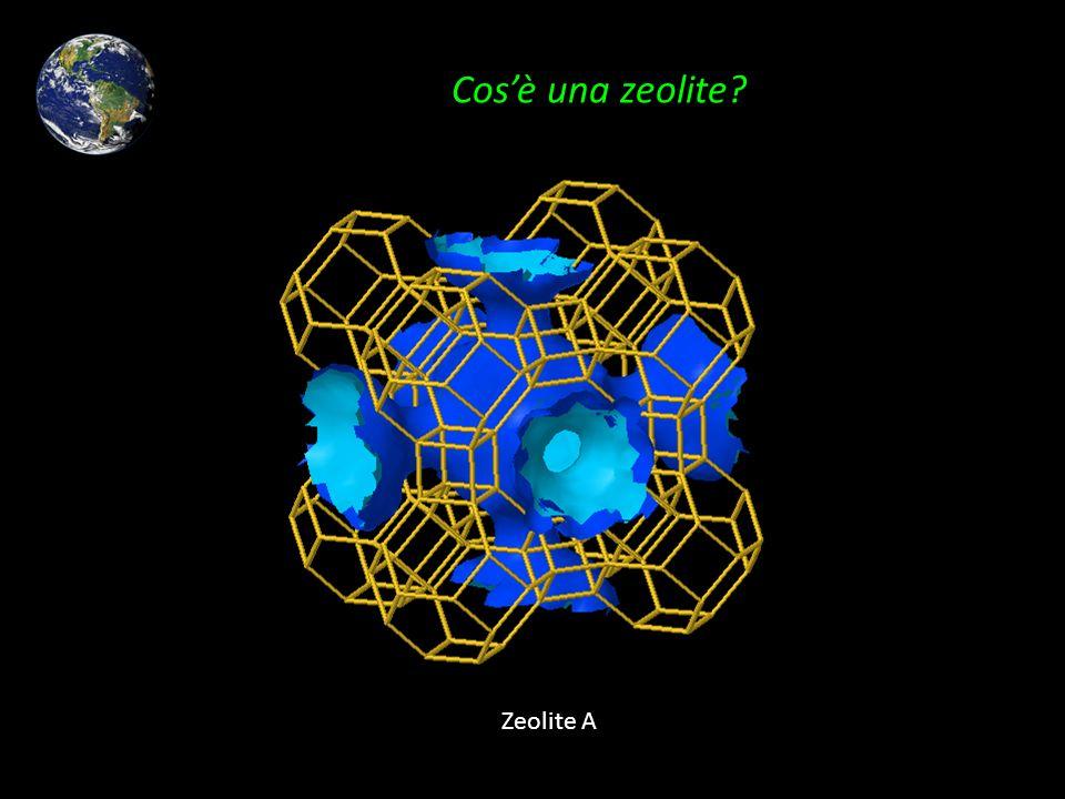 Cos'è una zeolite Zeolite A