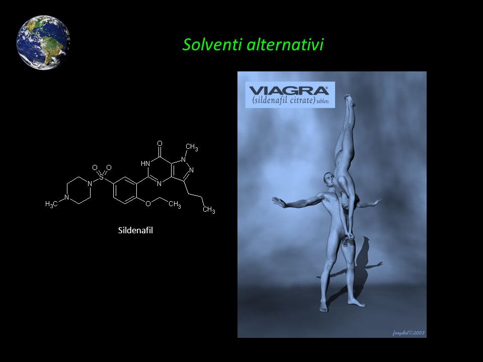 Solventi alternativi Sildenafil