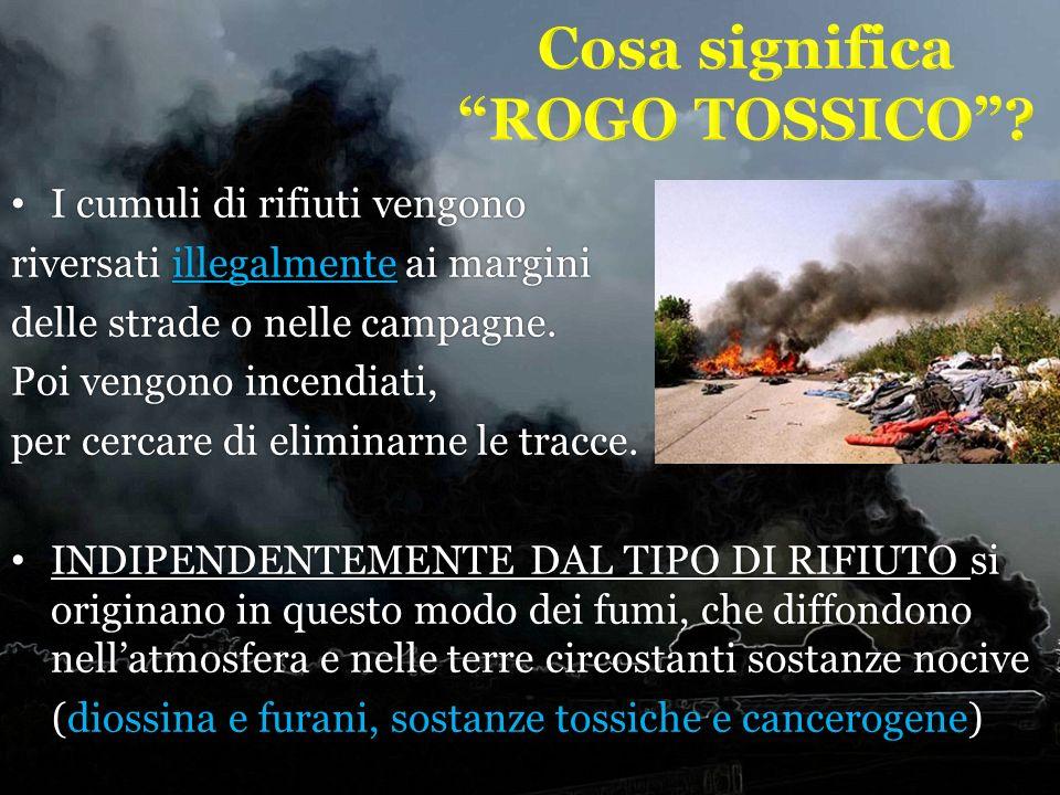Cosa significa ROGO TOSSICO