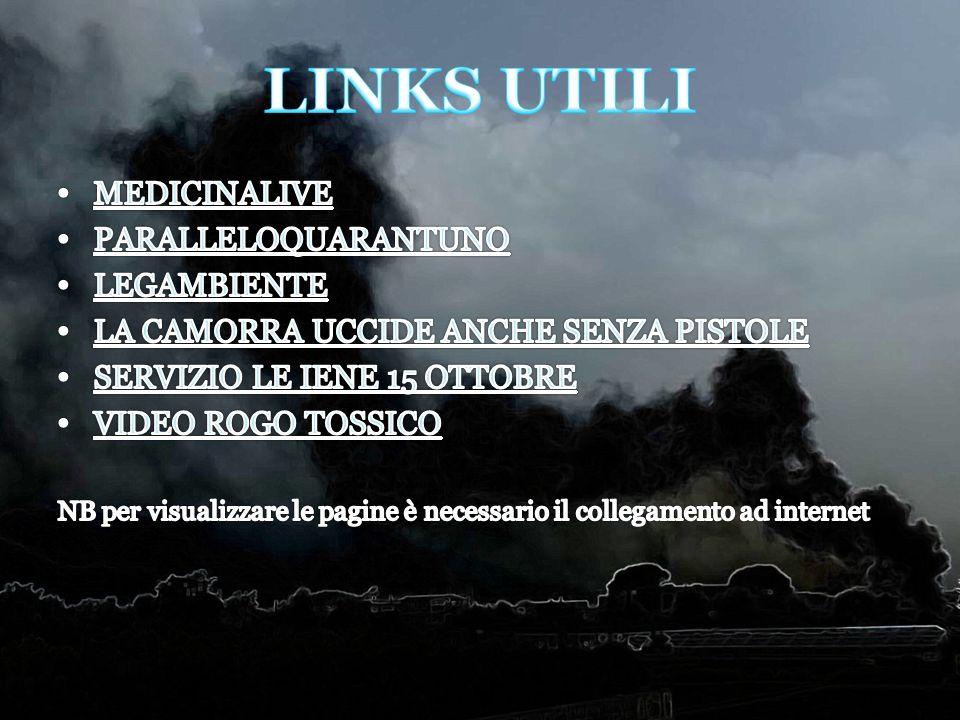 LINKS UTILI MEDICINALIVE PARALLELOQUARANTUNO LEGAMBIENTE