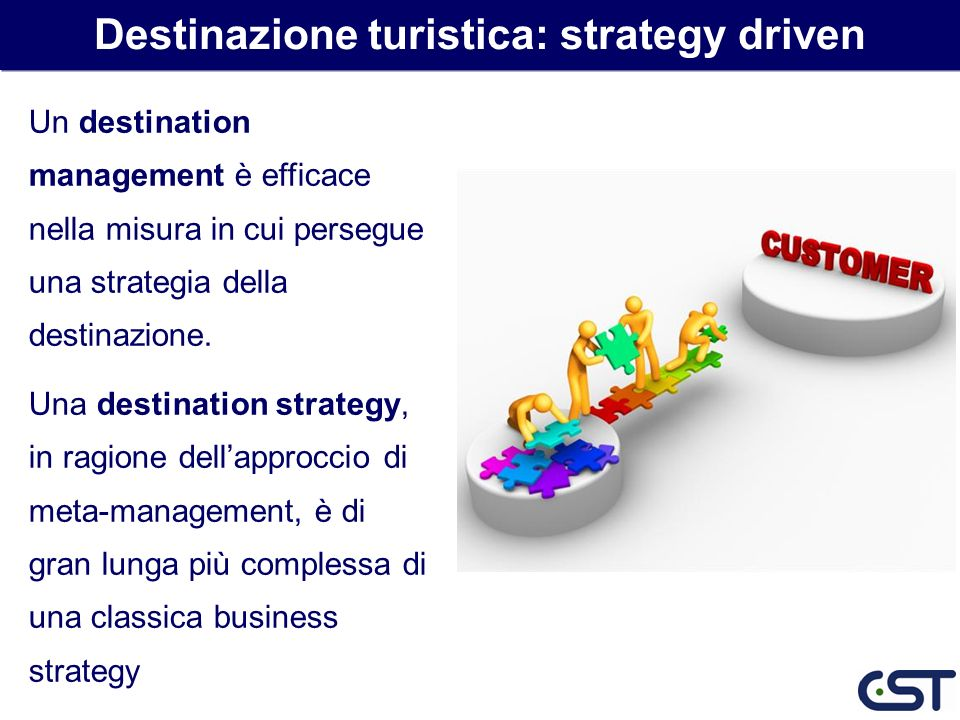 Destinazione turistica: strategy driven