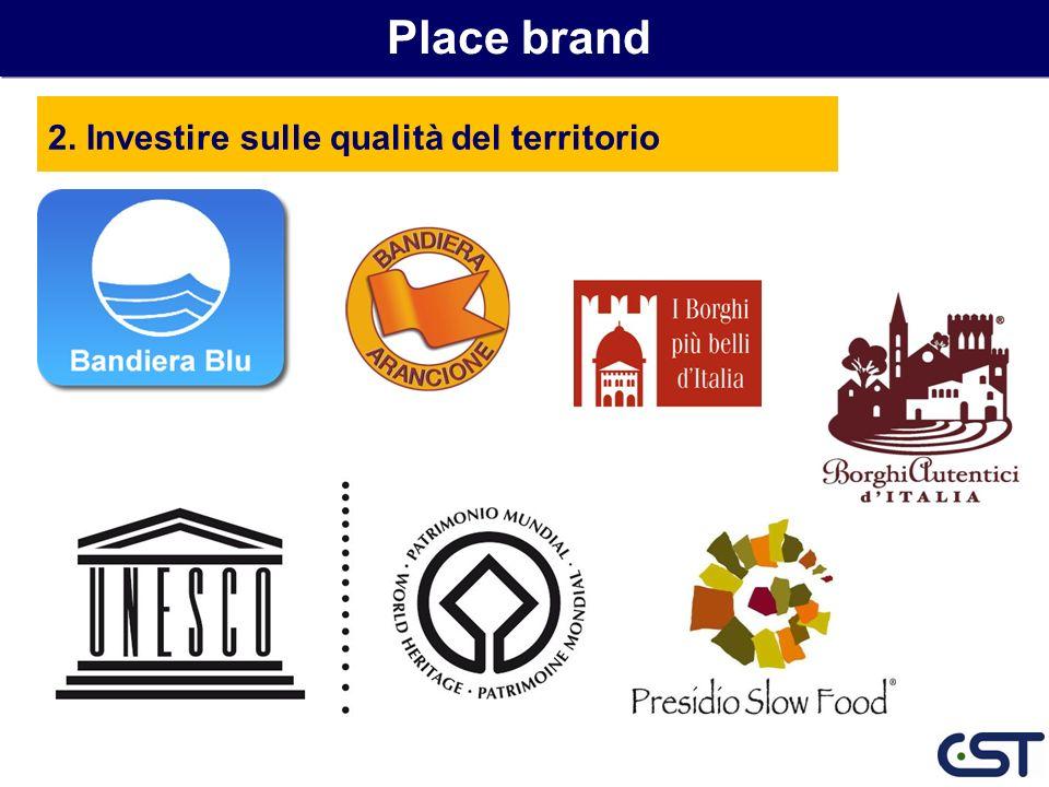 Place brand 2. Investire sulle qualità del territorio