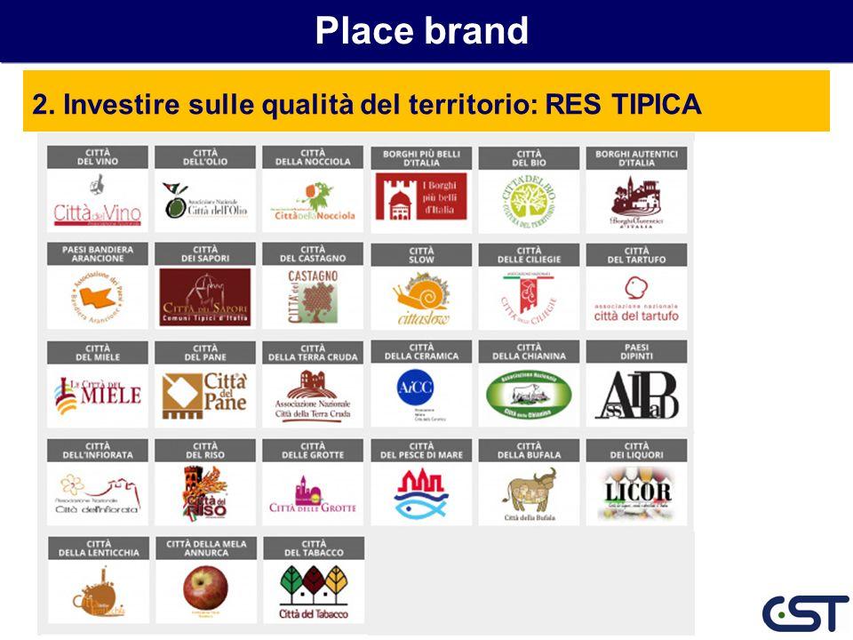 Place brand 2. Investire sulle qualità del territorio: RES TIPICA