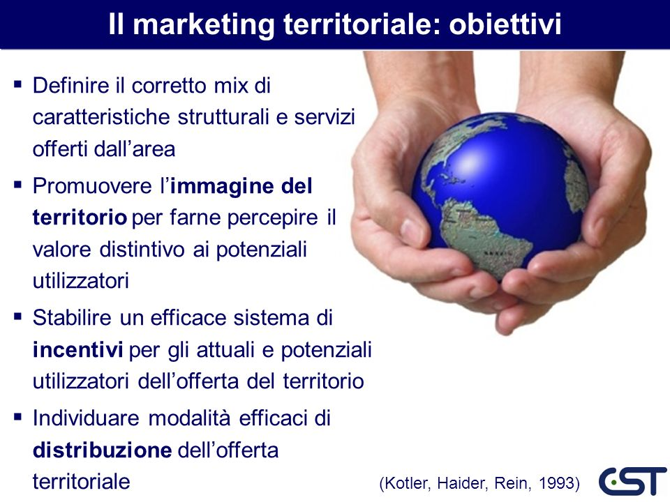 Il marketing territoriale: obiettivi
