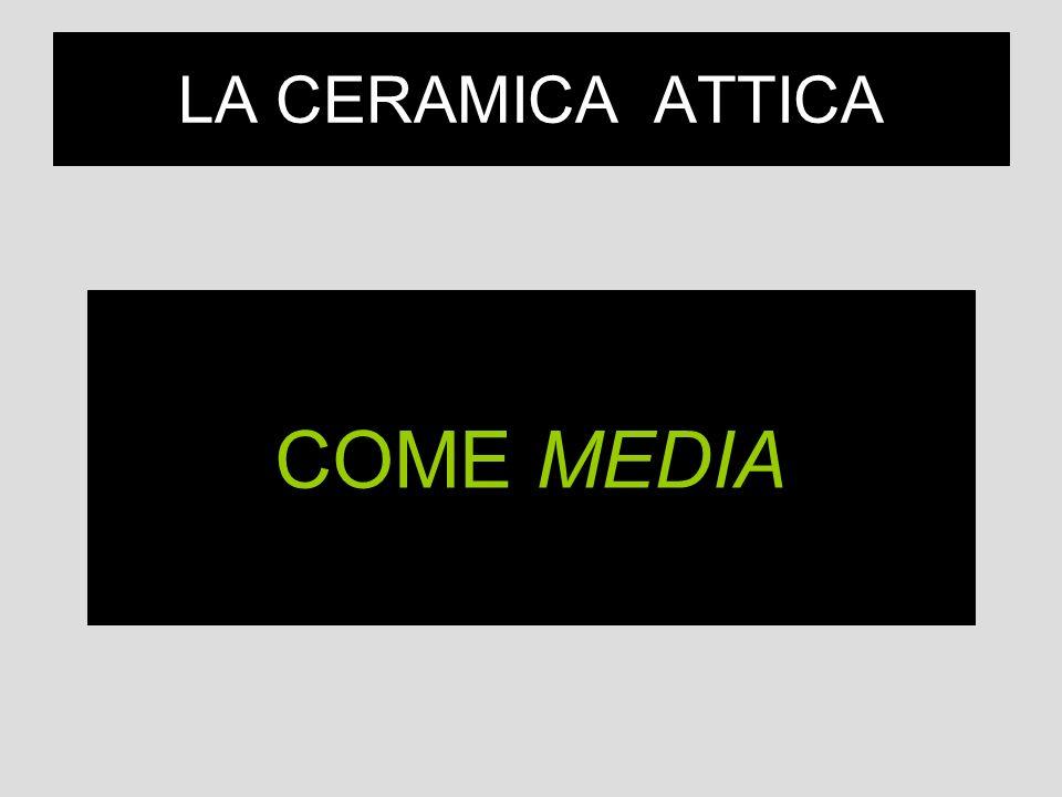 LA CERAMICA ATTICA COME MEDIA