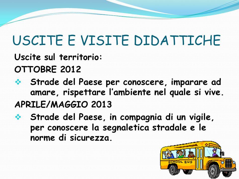 USCITE E VISITE DIDATTICHE