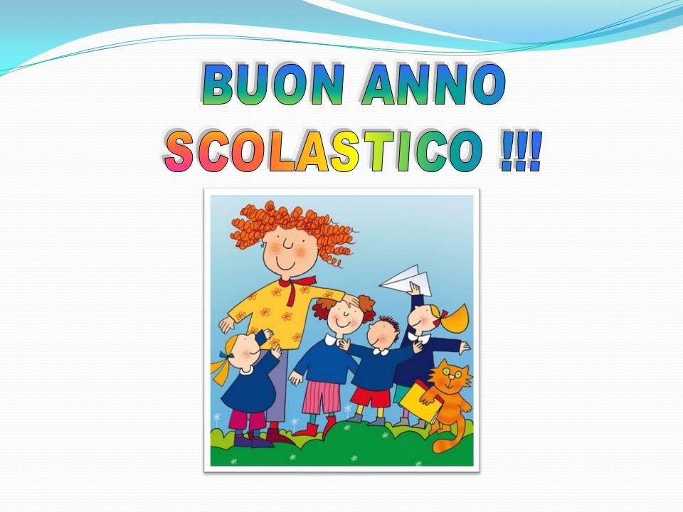 BUON ANNO SCOLASTICO !!!