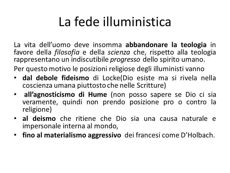 La fede illuministica