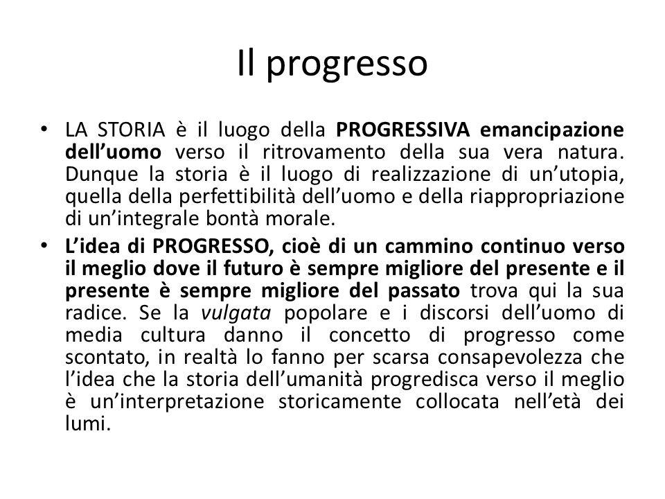 Il progresso