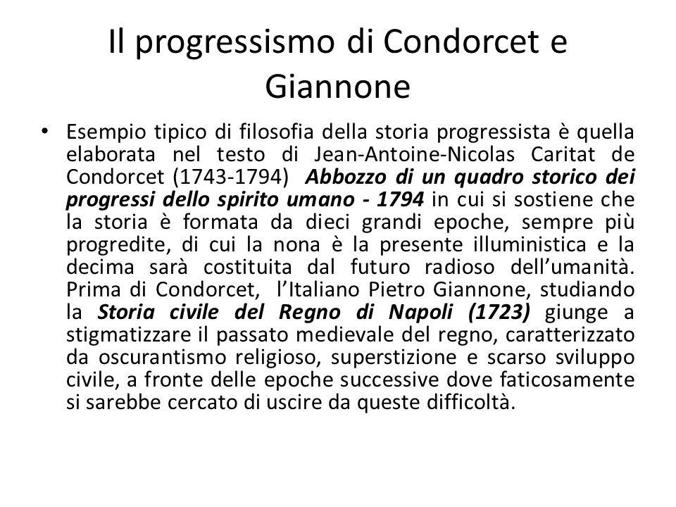 Il progressismo di Condorcet e Giannone