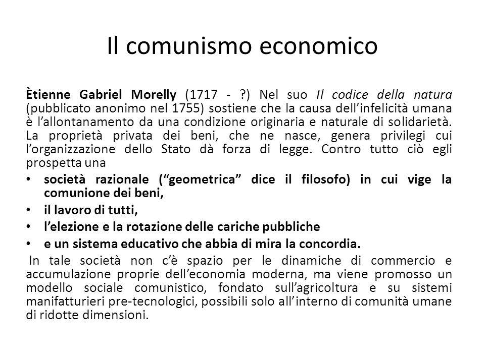 Il comunismo economico