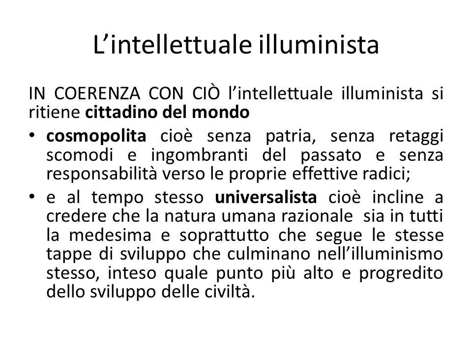 L'intellettuale illuminista