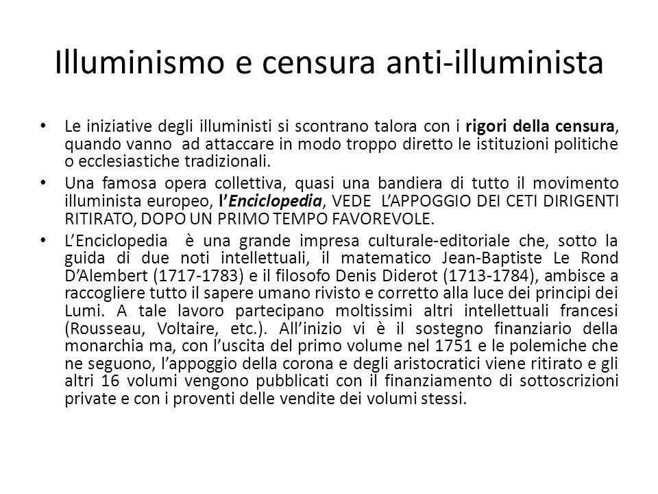 Illuminismo e censura anti-illuminista