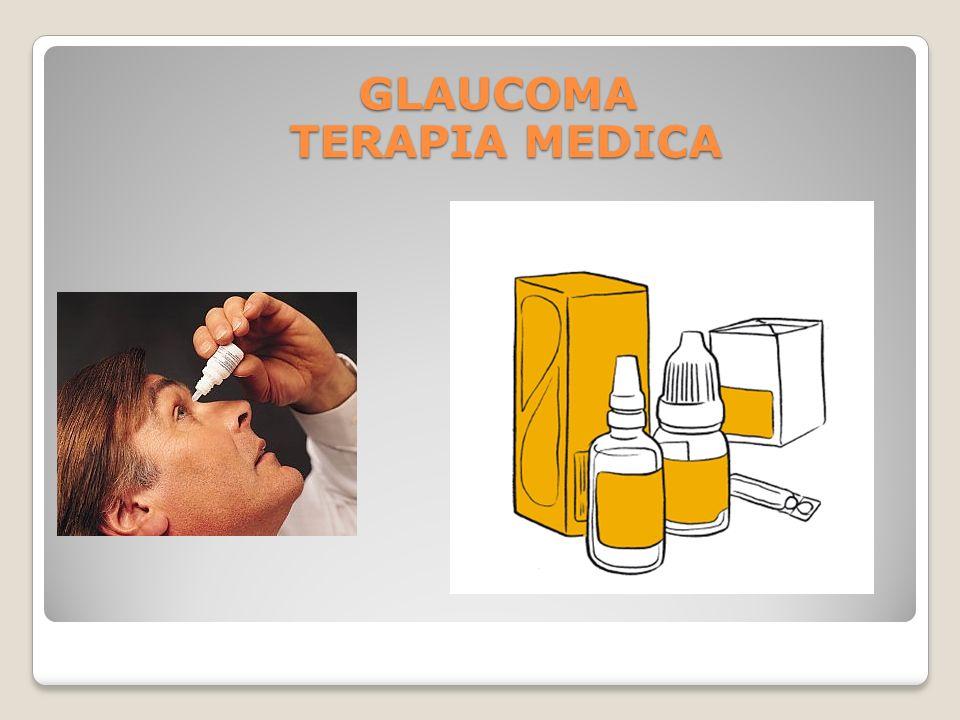 GLAUCOMA TERAPIA MEDICA