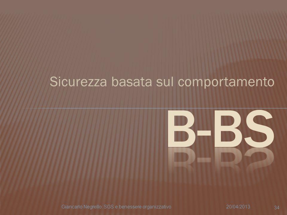 B-BS Sicurezza basata sul comportamento