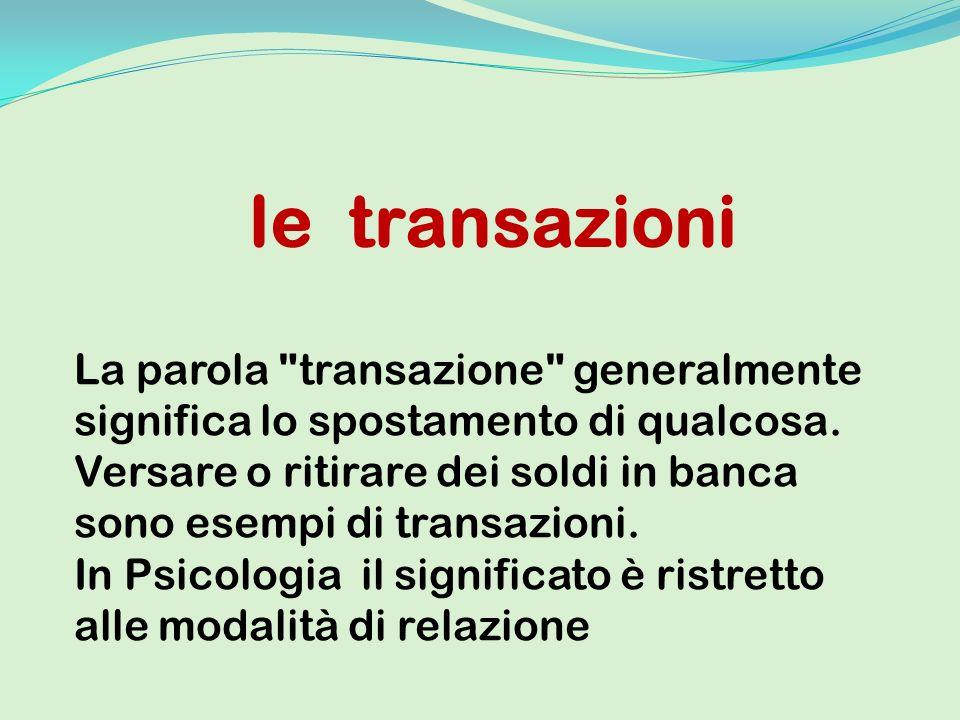 le transazioni