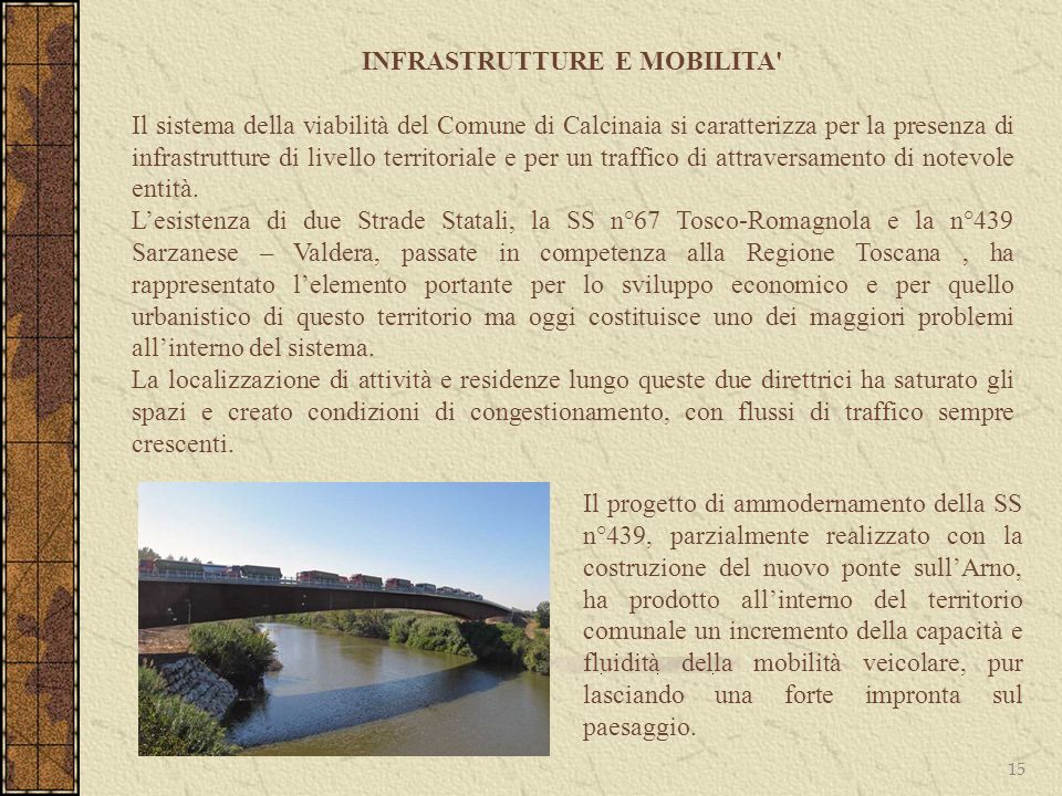 INFRASTRUTTURE E MOBILITA