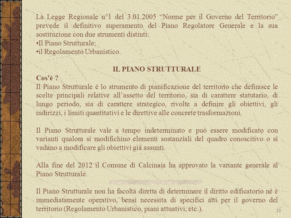 La Legge Regionale n°1 del 3. 01