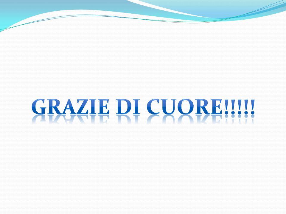 GRAZIE DI CUORE!!!!!