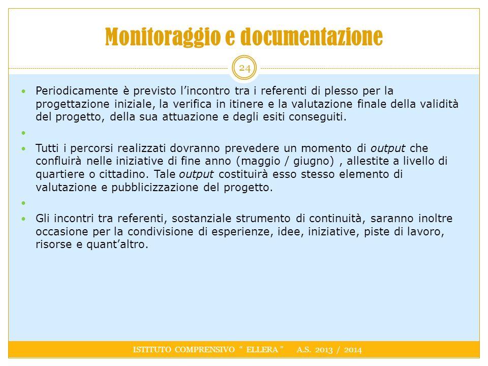 Monitoraggio e documentazione