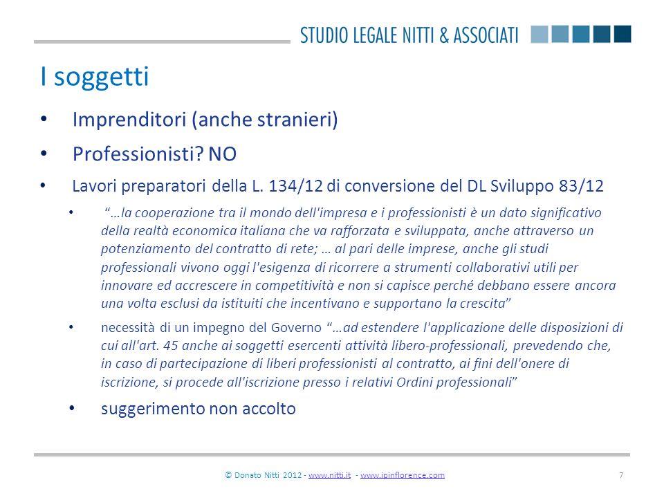 © Donato Nitti 2012 - www.nitti.it - www.ipinflorence.com