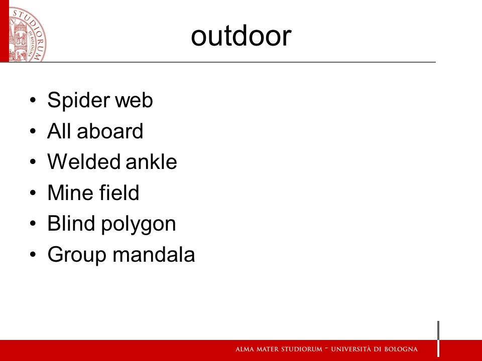 outdoor Spider web All aboard Welded ankle Mine field Blind polygon