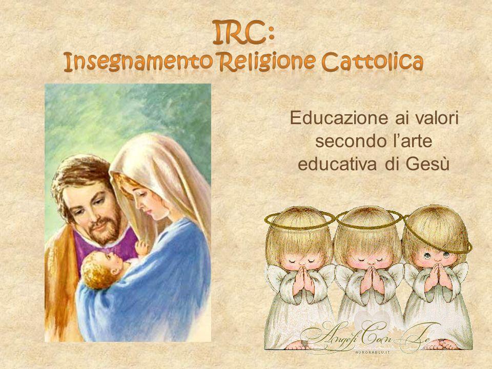 Insegnamento Religione Cattolica