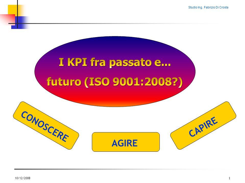 I KPI fra passato e... futuro (ISO 9001:2008 )