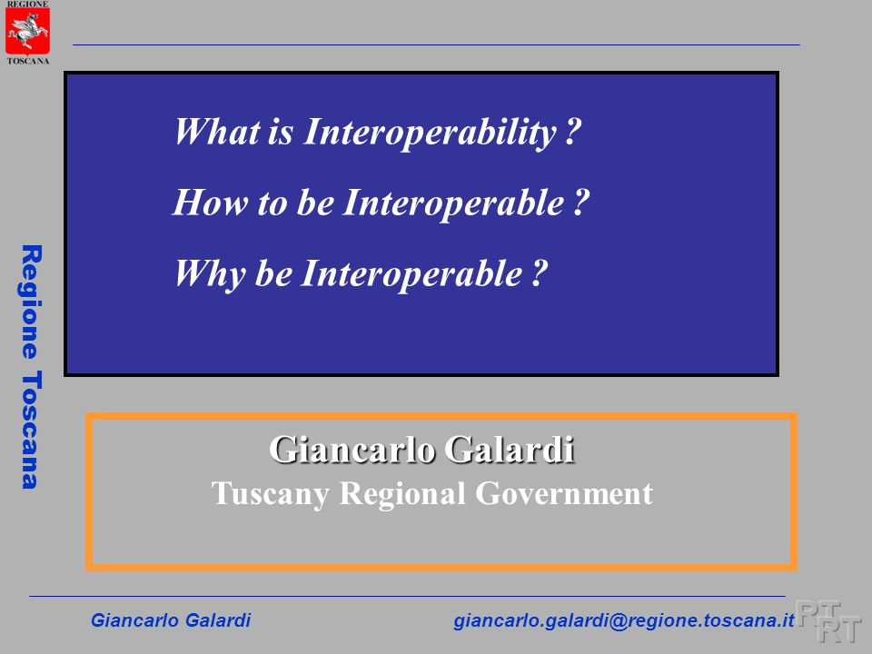 Tuscany Regional Government