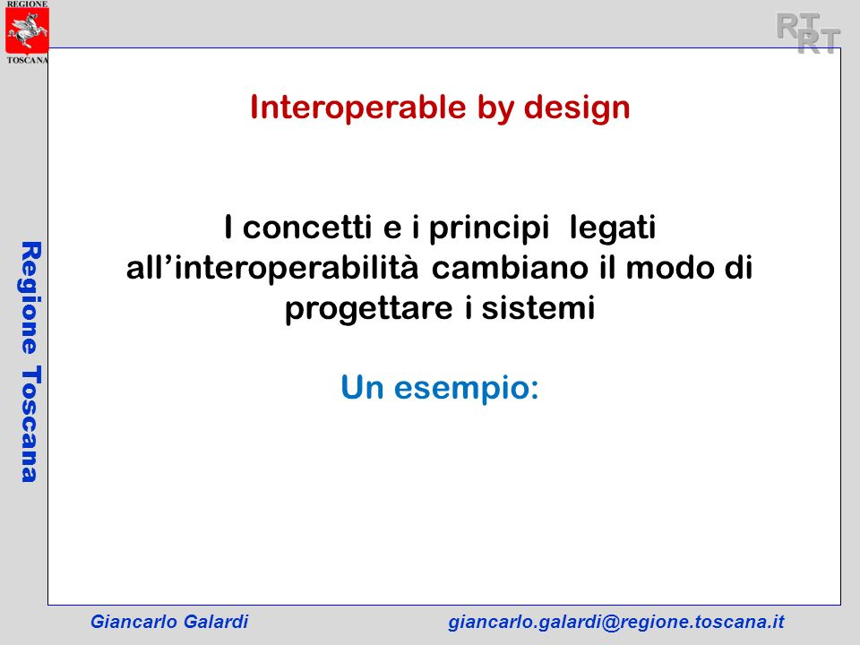 Interoperable by design