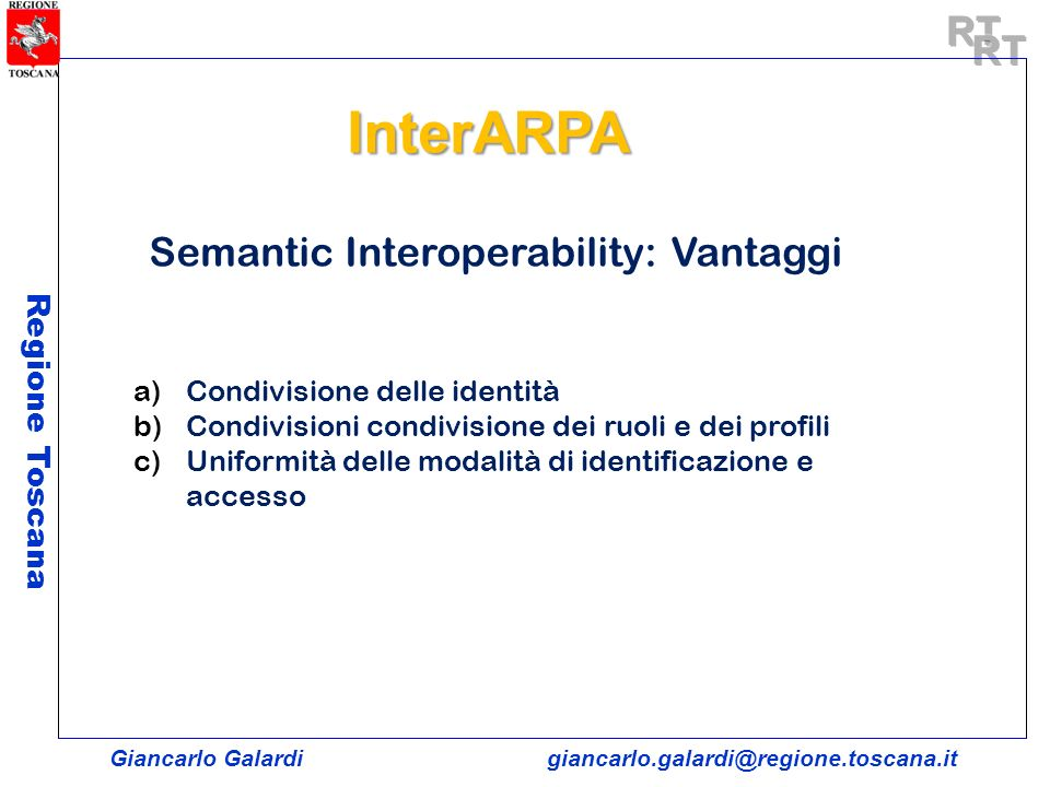 Semantic Interoperability: Vantaggi
