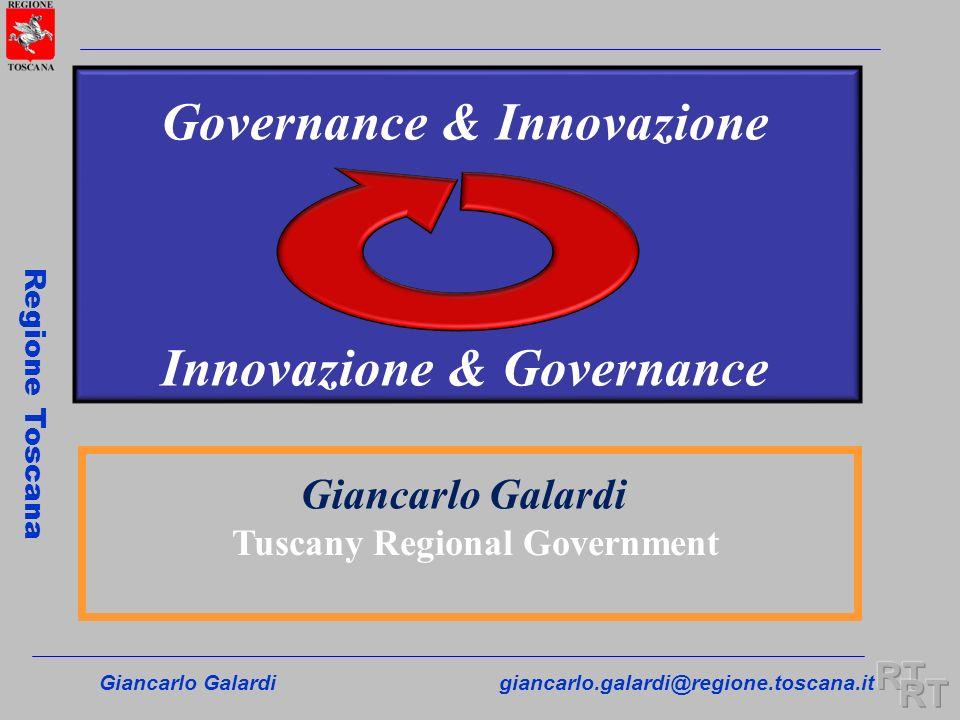 Governance & Innovazione Innovazione & Governance
